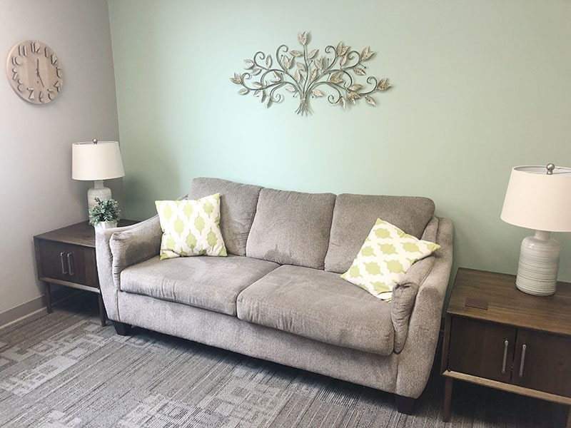 Therapy room at Integrity Counseling