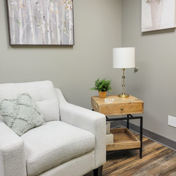 Therapy Room at Integrity Counseling - Fargo, ND